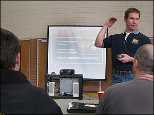 Rick Jorgenson, earlier in 2009, at the at North Dakota Fire School discusses situational awareness.